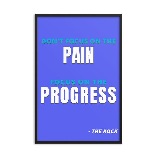 "Dwayne ""The Rock"" Johnson - Pain/Progress"