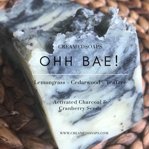 OHH BAE!! - Lemongrass, Cedarwood & TeaTree Soap