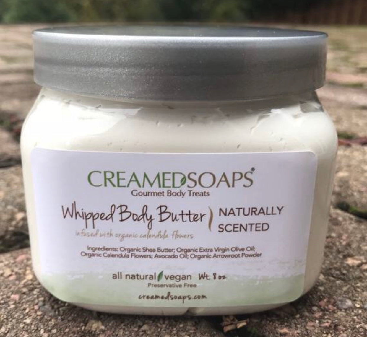 Unscented Whipped Body Butter - Whipped Shea Butter