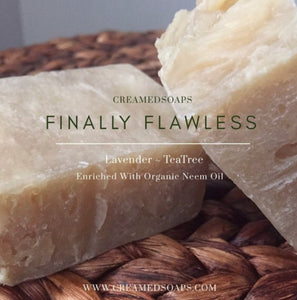 Finally Flawless - Neem & TeaTree Soap