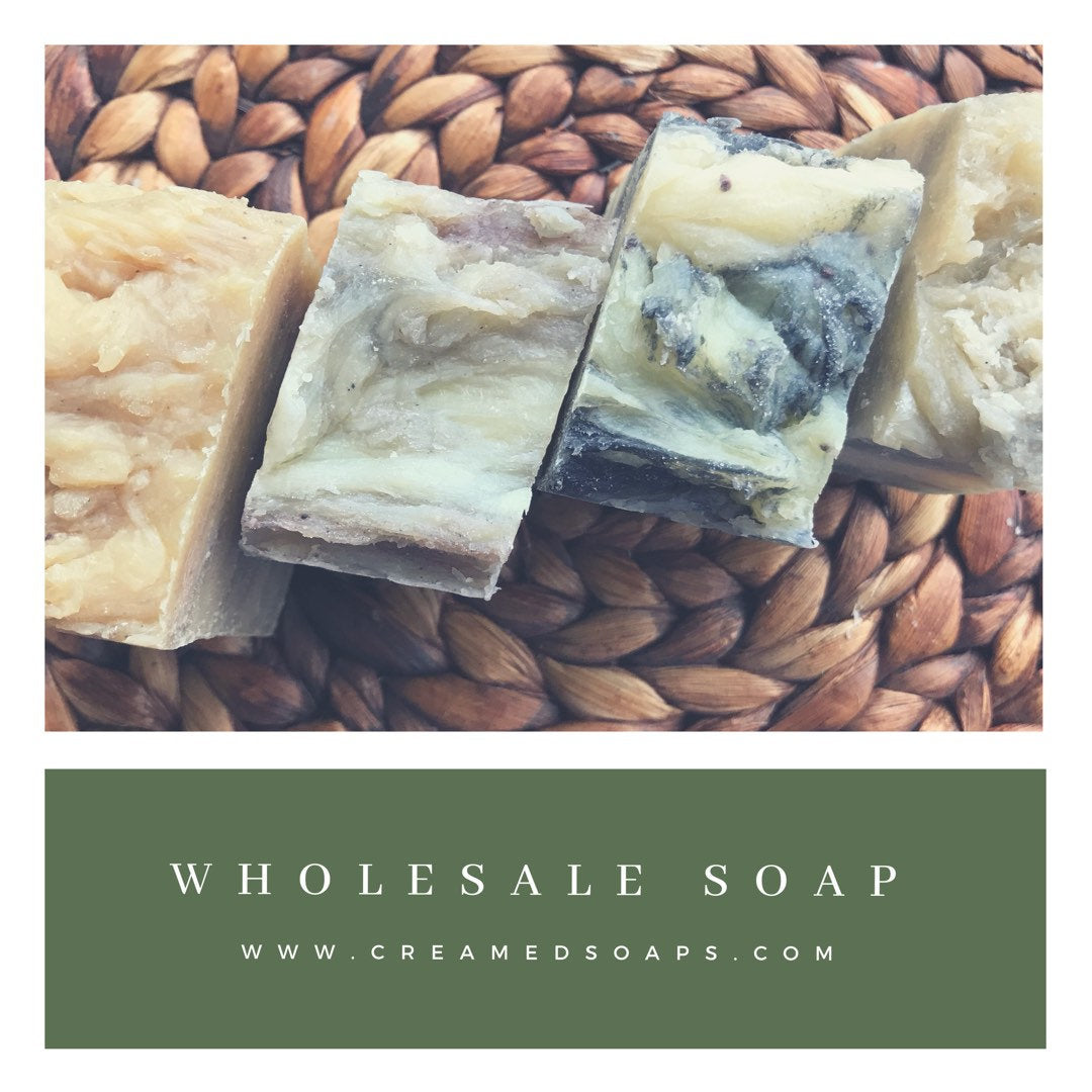 Wholesale Vegan Soap; Bulk Soap; Disount Soap (30 ct.)
