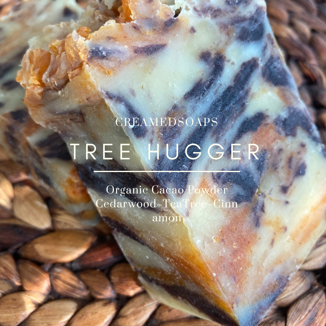 Cedarwood - TeaTree - Cinnamon Soap