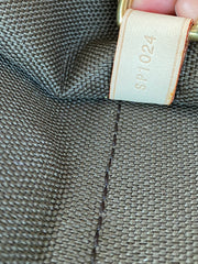 Men's Louis Vuitton Logo Monogram Fold Over Portable 5 Cintres Garment Bag