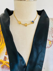 Louis Vuitton Gamble Necklace Earring Set