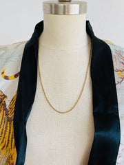 1960s 14K Cable Chain Necklace