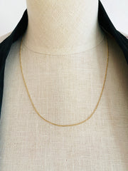 Delicate 14K Cable Chain Necklace 1.8 grams