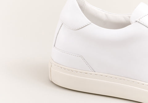 Quality height increasing leather sneakers