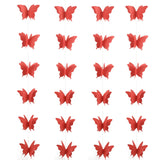 Fanions Papillons Rouges