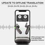 Timekettle WT2 Language Translator - Supports 40 Languages & 93 Accents, Voice Translator Earbuds.