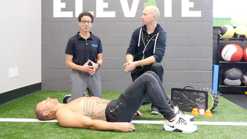 using the acumobility ball and graston technique to work trigger points to improve shoulder and diaphragm