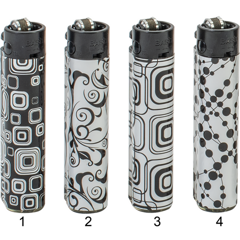Festival Black & White Lighters