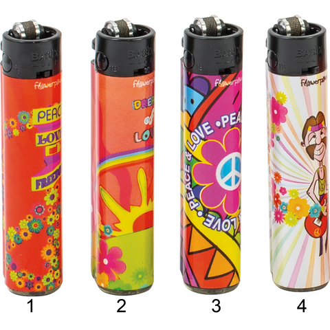 Festival Flower Power Lighters