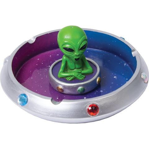UFO Alien Spaceship Ashtray