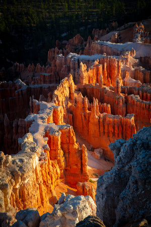 Hoodoo detail from Bryce National Park