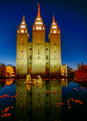 Church of Jesus Christ Salt Lake City, Utah Temple