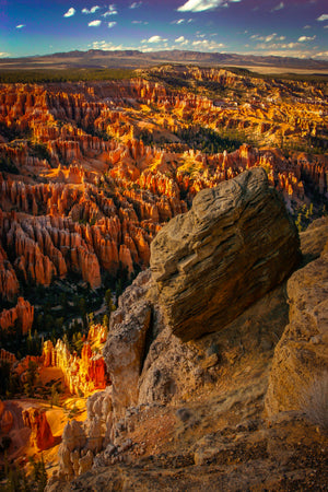 Bryce National Park sunset