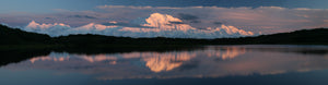 Mount McKinley Sunset with reflection