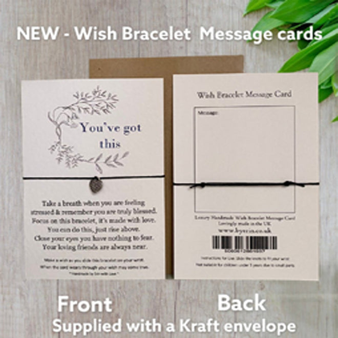Wish Bracelet Message Card Collection