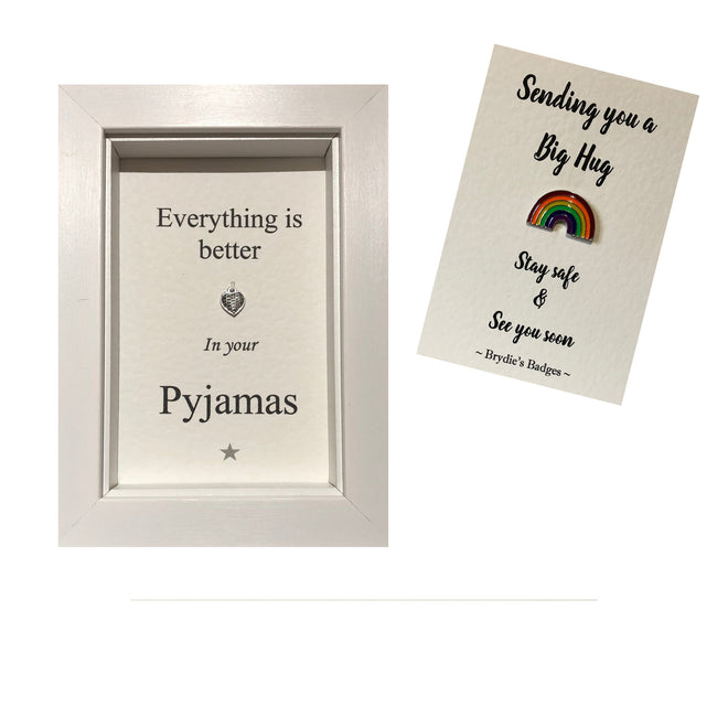 Sentiment Box Frames, Brydies Badges & Wine Charm Sets