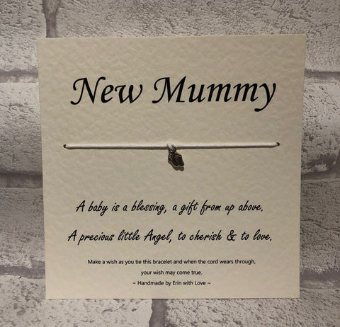 B - New Mummy  Wish Bracelet
