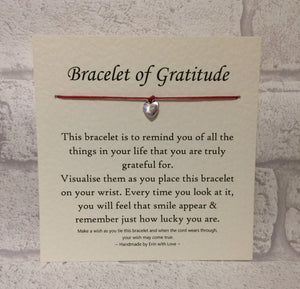 The Bracelet Of Gratitude  Wish Bracelet