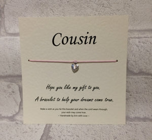 Cousin Wish Bracelet