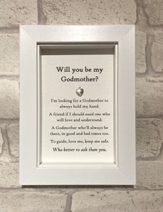 Be My Godmother  Box Frame