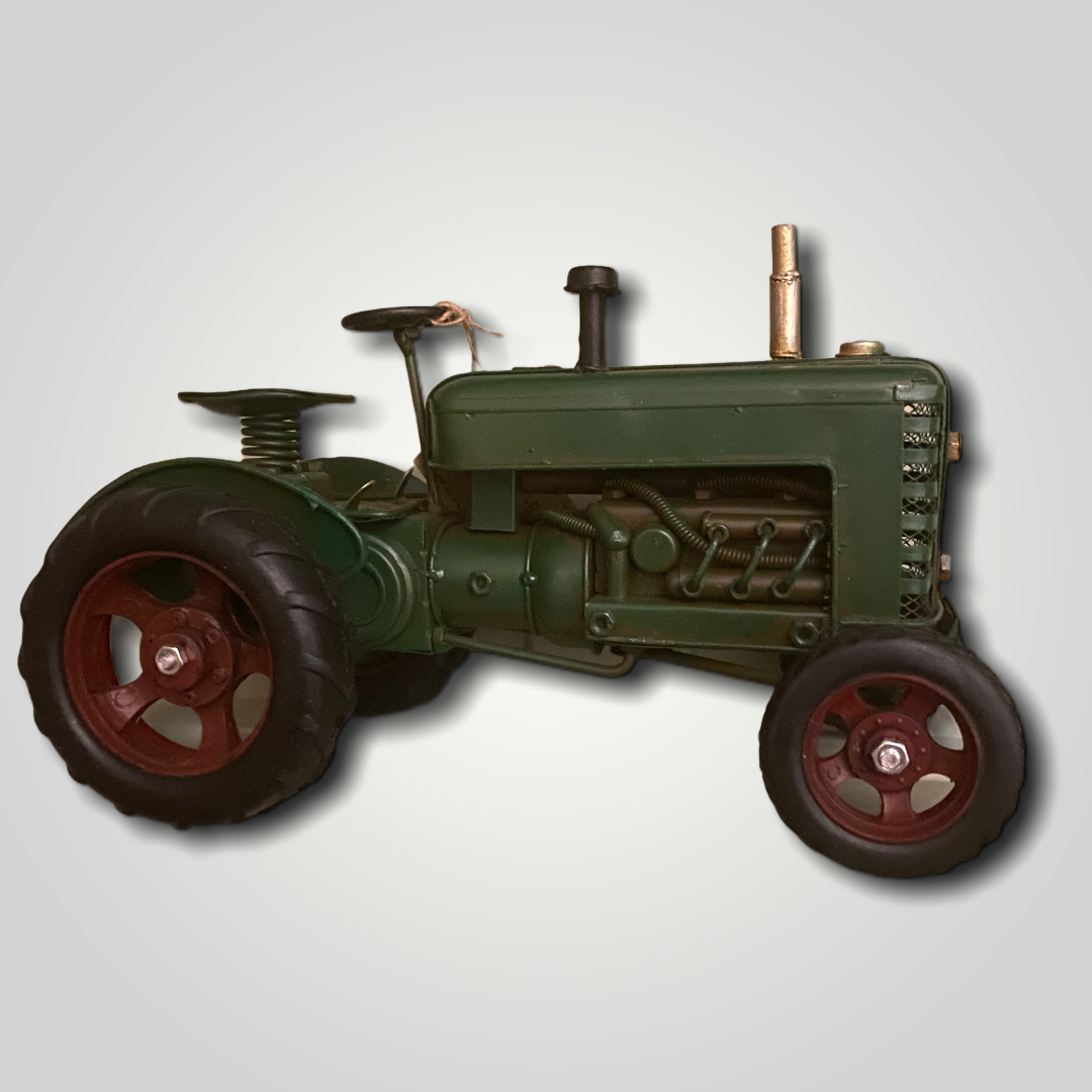 Tin Model Vintage Tractor