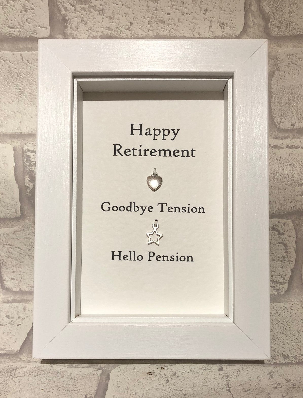 Happy Retirement  Box Frame