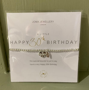 Joma Jewellery - 30th