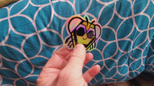 "Load and play video in Gallery viewer, Baby Bee Holographic 3"" Sticker"