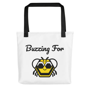 Buzzing For Baby Bee Tote bag