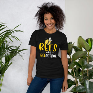 Bees are Beeautiful Short-Sleeve Unisex T-Shirt