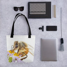 Load image into Gallery viewer, Beautiful Honeybee Tote Bag