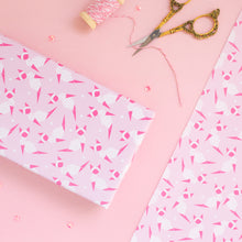 Load image into Gallery viewer, Origami Pink Kitty Wrapping Paper