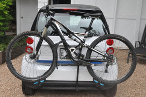 Smart Car Bike Rack Free2Go ForTheSmart easy fast lightweight