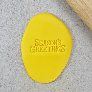 Season's Greetings Embosser