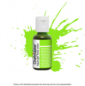 Chefmaster Liqua-Gel Colour - Neon Bright Green