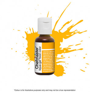 Chefmaster Liqua-Gel Colour - Golden Yellow