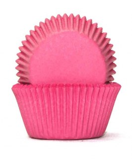 Lolly Pink Baking Cups - Pkt of 100