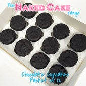 Cupcakes 12pk Chocolate - Fresh