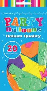 Multi Coloured Helium Quality Balloons