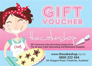 The Cake Shop Gift Voucher $10.00