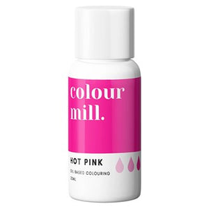 Colour Mill Oil Based Colouring 20ml Hot Pink