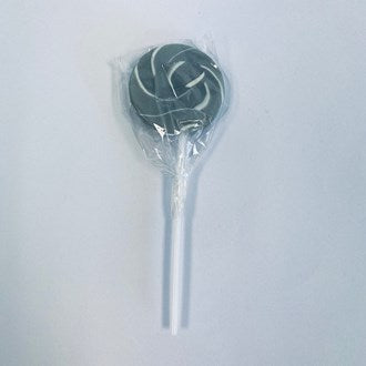 Grey Mini Swirl Lollipop