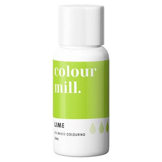 Colour Mill Oil Based Colouring 20ml Lime