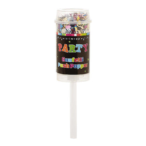 Confetti Push Popper - Multi