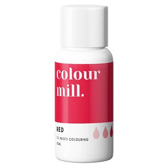 Colour Mill Oil Based Colouring 20ml Red