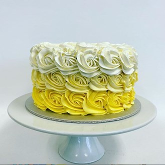 Rosette Ombre Yellow