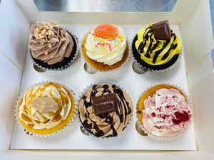 Cupcake 6 Piece Share Box